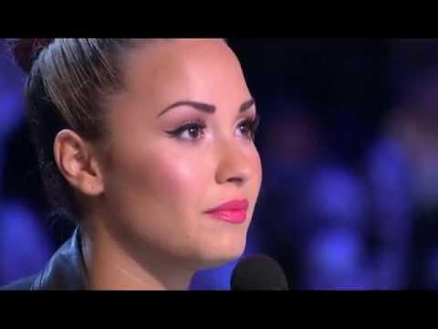 Joe Jonas and Demi Lovato THE X FACTOR USA - YouTube