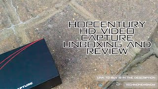 HopCentury HD Video Capture Unboxing & Review | Cheapest HD Game Capture Card