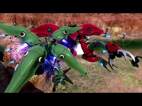 【PS4/PS3】『ガンダムバトルオペレーションNEXT』MS紹介動画~クシャトリヤ編~が公開