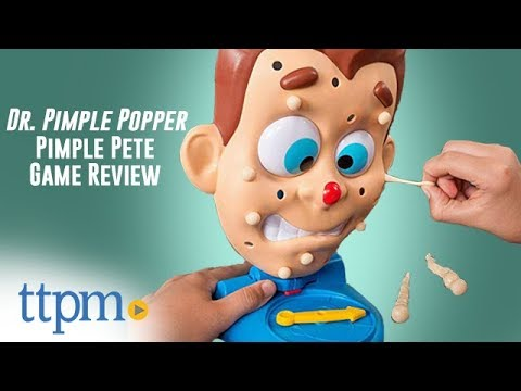Dr. Pimple Popper Pimple Pete Board Game Review | Spin Master