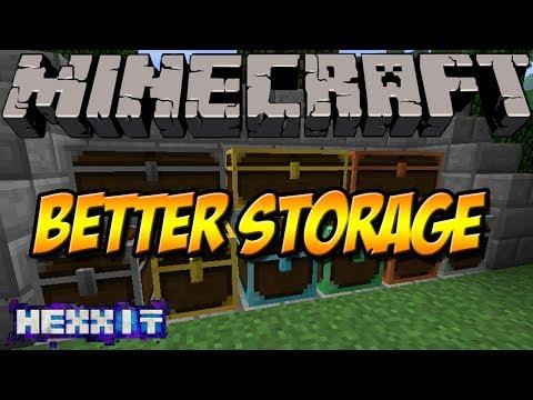 SCHLÖSSER UND NEUE KISTEN   Better Storage Mod   Minecraft Hexxit Mod Review [DEUTSCH]