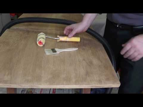 Как сделать лак для мебели своими руками