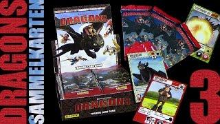 Dragons - Panini ® Trading Card Game - Sammelkarten Box Unboxing 3 / 2015 Re-Upload