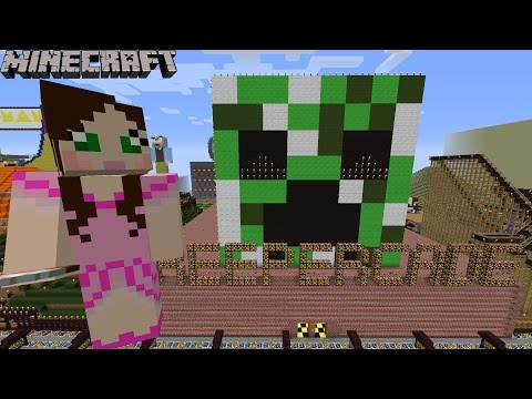 Minecraft: Notch Land - CREEPER ARCADE MINI-GAMES [1]