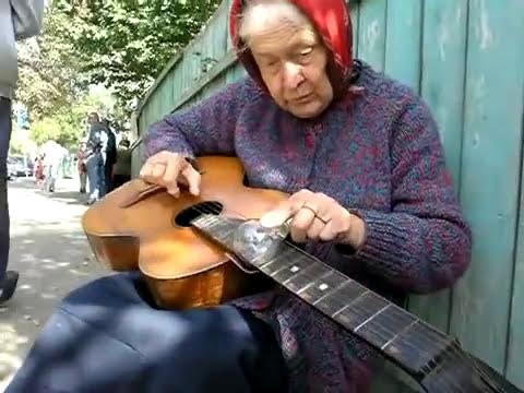 la abuela guitarrista