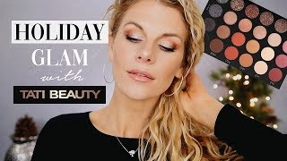 Holiday Glam with Tati Beauty Textured Neutrals