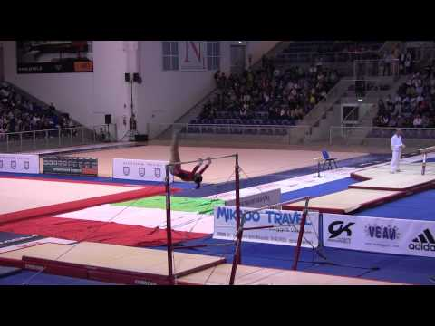 Katelyn Ohashi (USA) Jesolo 2012 UB - 1st place