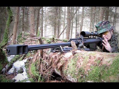 Airsoft War Sniper Action JG Bar 10. JG Snow Wolf Barrett Scotland