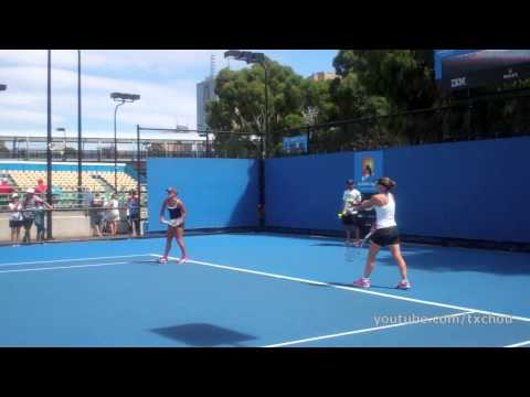 Samantha Stosur - Kick Serve in Slow Motion (HD) 2013