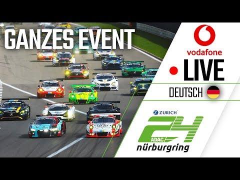 ADAC Zurich 24h-Rennen 2018 | Vodafone Livestream 🔴