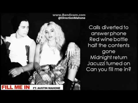 Pia Mia - Fill Me In ft. Austin Mahone Lyrics