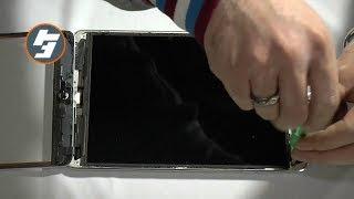 ipadmini ガラス交換① 分解I repaired a broken iPad mini①