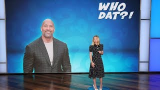 Scarlett Johansson Tries to Figure Out 'Who Dat?!'