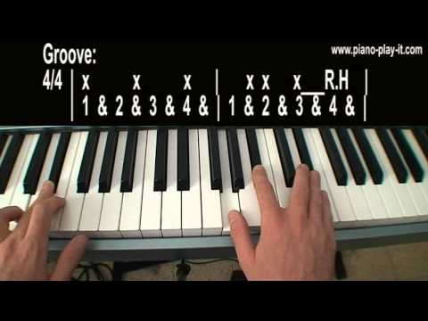 Valerie Amy Winehouse Piano Tutorial