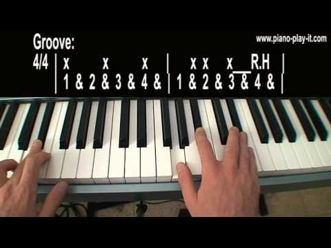 Valerie Amy Winehouse Piano Tutorial