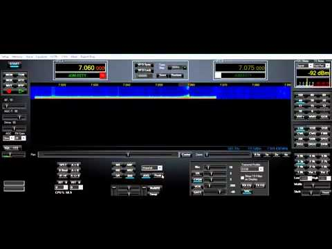 PowerSDR Pretty Betty 1.19 Alpha running on Flex 3000 SDR Amateur Radio
