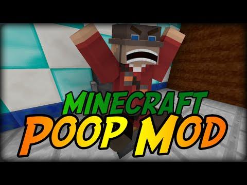 Minecraft Mod: POOP & TOILETS? (Poop Mod)