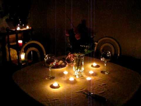 Romantic Dinner Setup Youtube