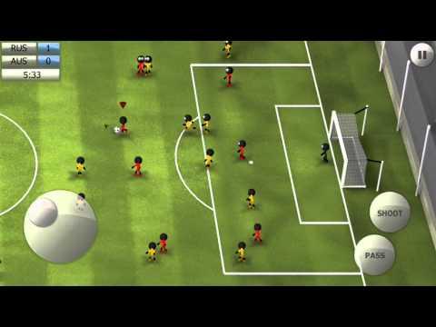 Stickman Soccer 2014 - Russia 2 / Australia 0