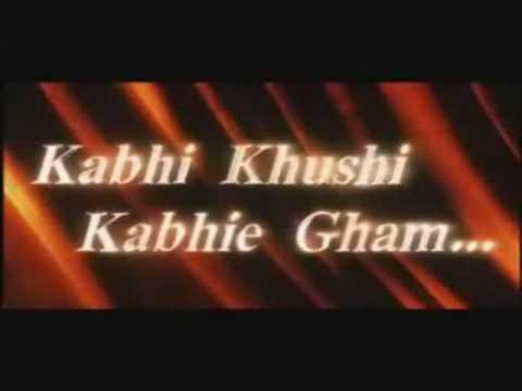 Kabhi Khushi Kabhie Gham Trailer-tribute