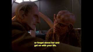 DS9: Quark comforts Odo