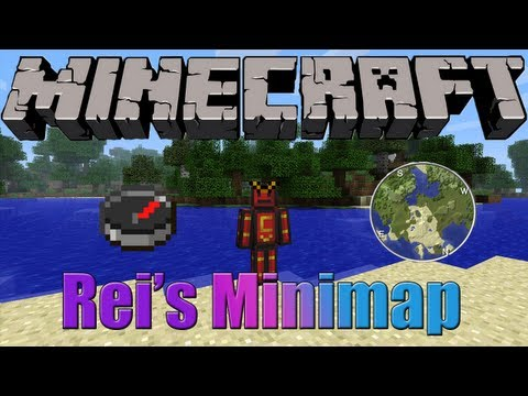 Minecraft 1.5.2 - Descargar e instalar Rei's Minimap MOD [HD]