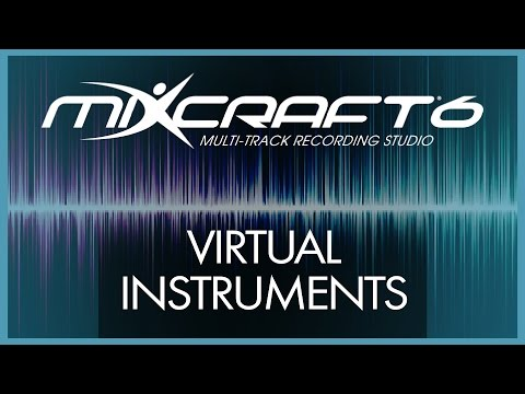 Mixcraft 6 Tutorial - 2# Virtual Instruments