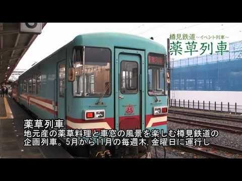 樽見鉄道 イベント列車 ~薬草列車~