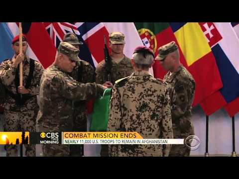 U.S. Officially Ends Combat Mission In Afghanistan