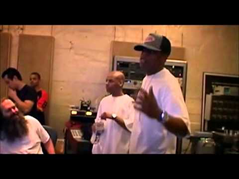 Jay-Z, Rick Rubin recording
