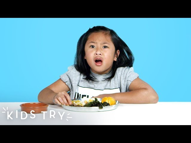 Kids Try Prison Food from Around the World  Kids Try  HiHo Kids
