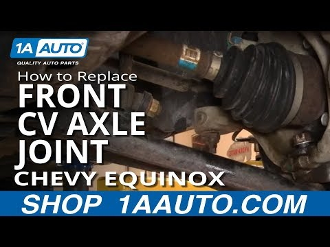 How To Install Replace Front CV Axle Joint Chevy Equinox Saturn Vue 05-10 1AAuto.com