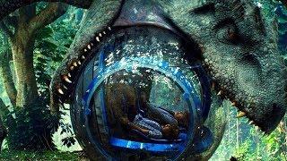 Indominus Rex Attacks the Gyrosphere - Jurassic World (2015) Movie Clip HD