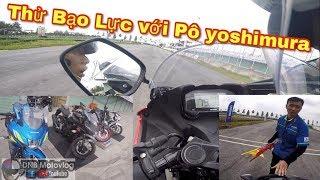 Bị Nhắc Nhở vì Test Bạo Lực Gsx, Raider độ pô yoshimura tại trường đua 2k