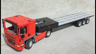 The EasyLoader Invention: loading the easy way with this DAF CF and unique trailer