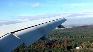 RARE Omni Air International Boeing 777-2U8(ER) Landing at Ramstein AB, Germany