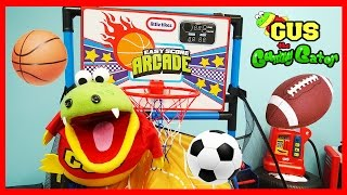 Learn Sports Balls Name and Learn Colors for Children and Toddlers! Family Fun Kids Video