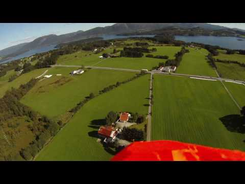 Fast Paced Funjet RC Plane + Onboard GoPro HD in Norwegian summer landscape.
