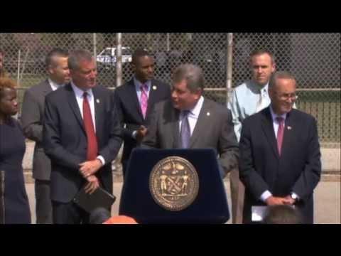Mayor de Blasio Announces Federal Funds to Repair...