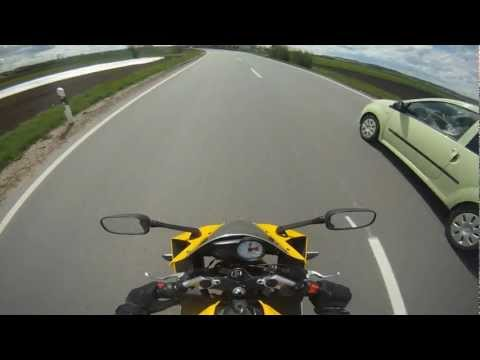 Aprilia rs 125 // Yamaha yzf r125 // MZ sm 125 // Big City Life // [GoPro] HD