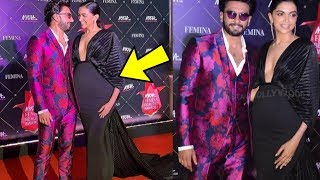 Ranveer Singh Looks Superhappy With Pregnant Wife Deepika Padukone At An Event
