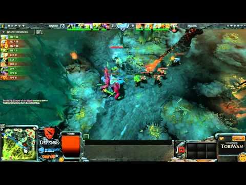 Team Liquid vs Fnatic EU Game 1 - The Defense 3 - TobiWan