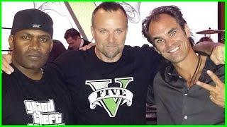 GTA V Actors of Trevor Franklin Michael interviews and Funny moments PART 2