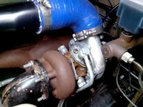 Toyota Bandeirante 1982 motor 608 Turbo/Intercooler