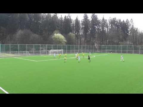 Sestřih branek FC FASTAV Zlín U15 - FCB U15 1:5 (1:2)