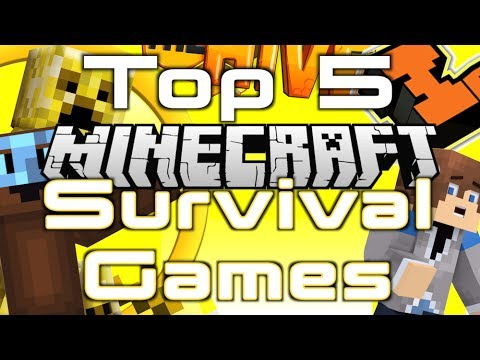 Top 5 Minecraft Survival Games Servers [ 1.7.10 ] [ 2014 ] HD