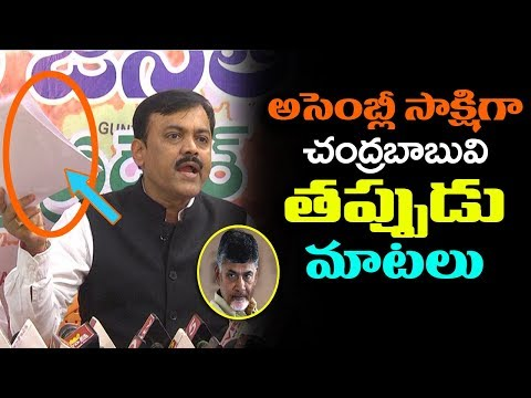 BJP MP GVL Narasimha Rao Fires On CM Chandrababu | TDP VS BJP | AP Political News | Indiontvnews
