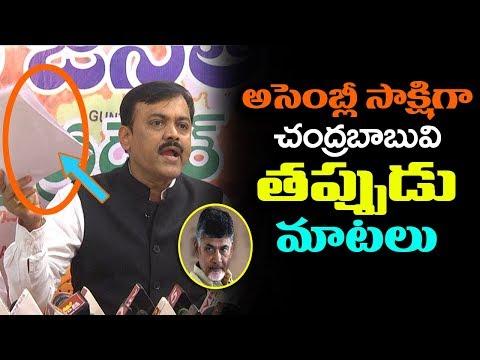 BJP MP GVL Narasimha Rao Fires On CM Chandrababu | TDP VS BJP | AP Political News | Indiontvnews