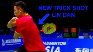NEW TRICK SHOT OF LIN DAN AND CRAZY RALLIES!