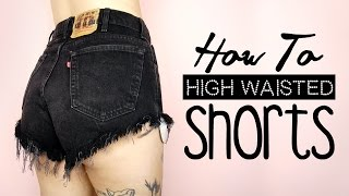 DIY High Waisted Shorts! | by tashaleelyn